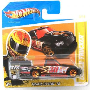 Hot Wheels 68/47 Circle Trucker Car - Trackstars 12